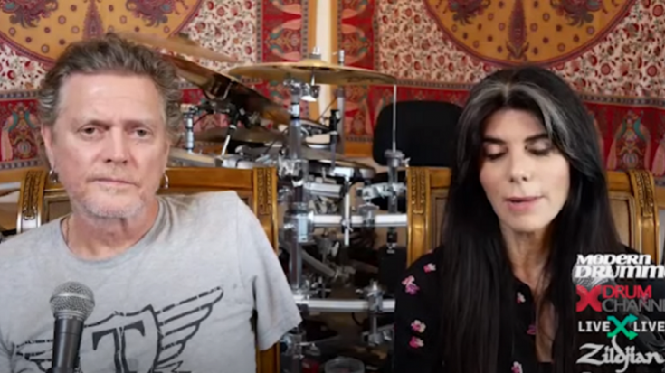 Fan Letters Motivated Def Leppard's Rick Allen To Continue Playing Drums | Society Of Rock Videos