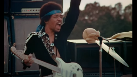 "Watch A Rare Footage of Jimi Hendrix Performing ""Voodoo Child"" in Maui 1970 