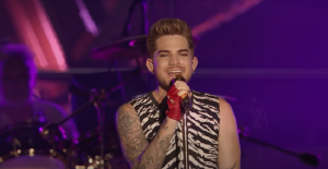 "Video Of The First Time Queen + Adam Lambert Performed New Arrangement  Of ""I Was Born to Love You"" Released"
