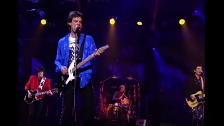 "The Rolling Stones Release Performance Video For 1989 ""Mixed Emotions"" 