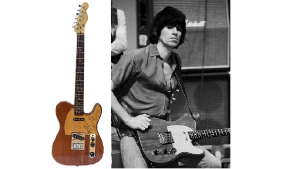 "Keith Richards' 1978 ""Some Girls"" Guitar Is Headed To Auction"