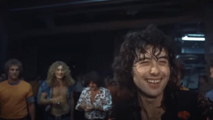 Watch A 1973 Summer Backstage Sneak Peek Of Led Zeppelin | Society Of Rock Videos