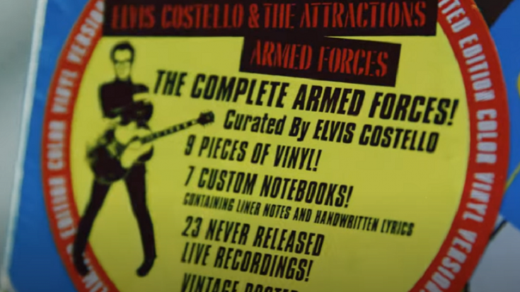 "Elvis Costello Announced New Box Set ""The Complete Armed Forces"" 