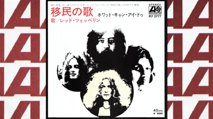 """Led Zeppelin Streams Japanese Reissue Of """"Immigrant Song"""" 