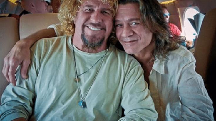 Sammy Hagar Shares Story Of Reunion With Eddie Van Halen