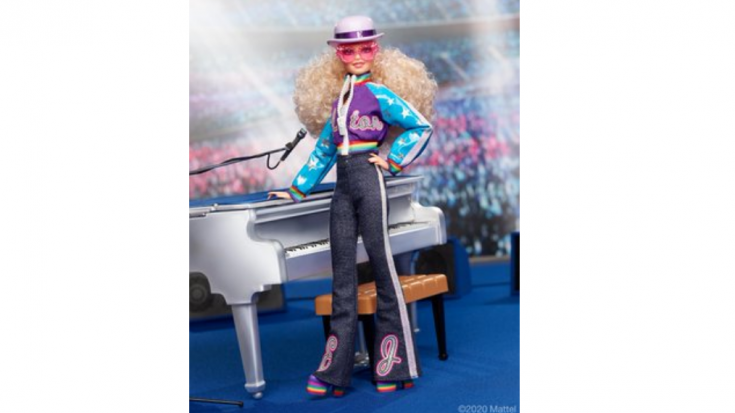 Elton John Has His Own Limited Edition Barbie Doll   Society Of Rock Videos
