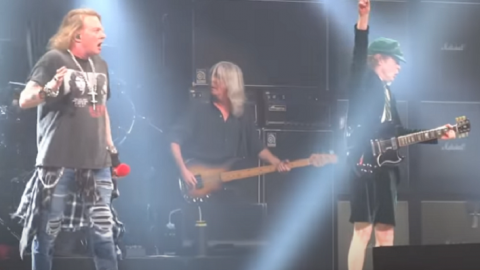 AC/DC Is Thankful For Axl Rose's Help In 2016 Tour