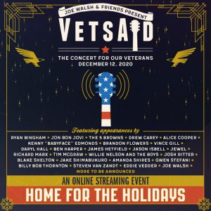 Joe Walsh's VetsAid 2020 Will Feature Jon Bon Jovi, James Hetfield, Alice Cooper, And More
