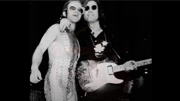 John Lennon's Last Concert With Elton John Was Caused By A Bet | Society Of Rock Videos