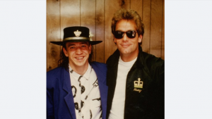 The Story Of Huey Lewis Helping SRV Through A Very Difficult Tour