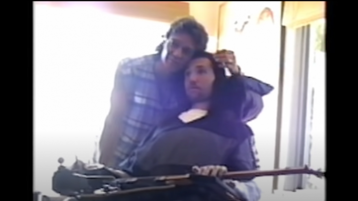 New Video Of Eddie Van Halen Visiting Jason Becker In 1996 Surfaces | Society Of Rock Videos