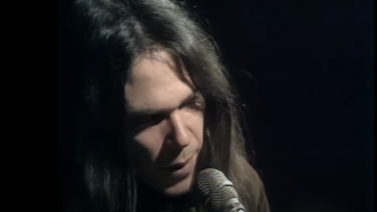 The Story Behind 'A Man Needs A Maid' By Neil Young   Society Of Rock Videos