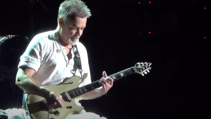 Eddie Van Halen Posthumously Received Lifetime Achievement Award From National Guitar Museum | Society Of Rock Videos
