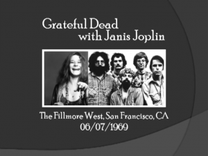 Relive Janis Joplin's Jam With The Grateful Dead Back In 1969