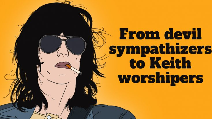 """Discover Keith Richards' Isolated Guitar For The Rolling Stones' """"Sympathy for the Devil"""" 