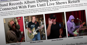Sammy Hagar Releases Music Video For Cover of David Bowie's 'Heroes'