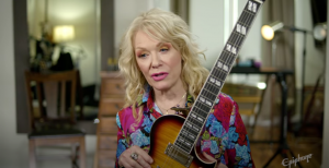 Heart's Nancy Wilson and Epiphone Announce A New Electric Guitar
