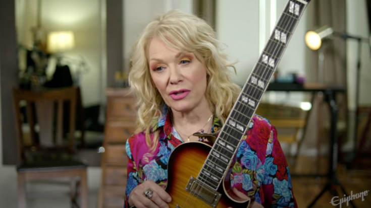 Heart's Nancy Wilson and Epiphone Announce A New Electric Guitar | Society Of Rock Videos