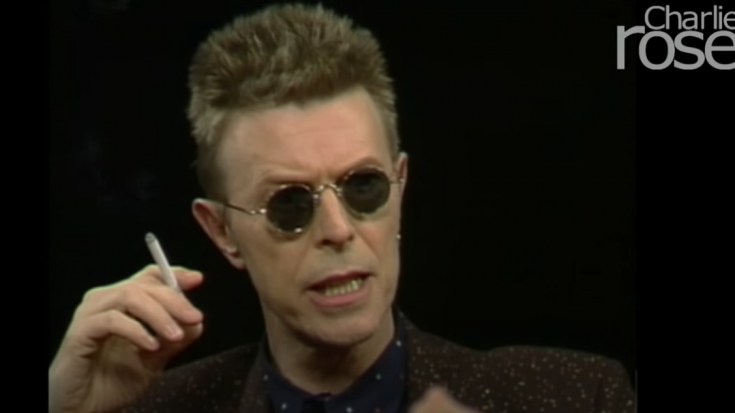 David Bowie Talks About How Being An Artist Is To Be 'Dysfunctional'