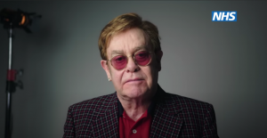 Watch Elton John Audition For Covid-19 PSA