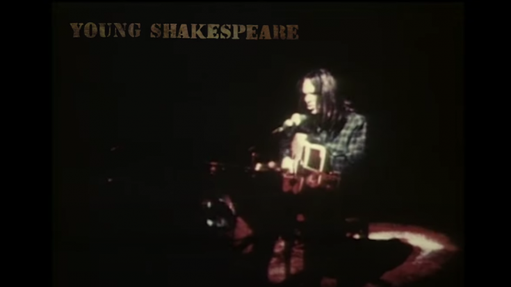 Neil Young Live LP And Film 'Young Shakespeare' Announced | Society Of Rock Videos