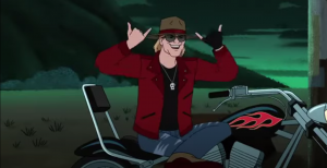 Watch Axl Rose's Animated Cameo On Scooby-Doo