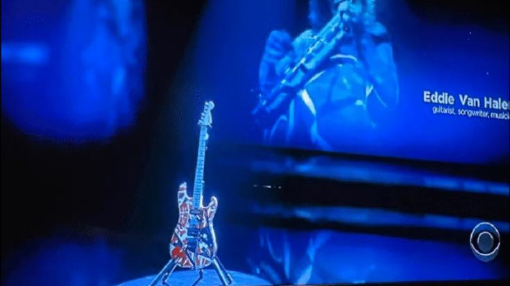 How Rockstars React To The Grammy's Eddie Van Halen 'In Memoriam' | Society Of Rock Videos