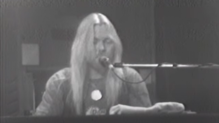 1979: Gregg Allman Gives Us The Proper Blues With 'It's Not My Cross To Bear '