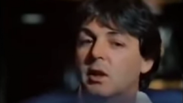 Watch Paul McCartney Cries As He Remembers John Lennon | Society Of Rock Videos