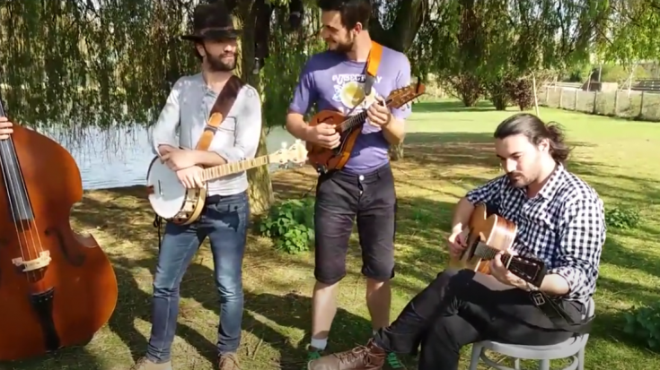 Treat Yourself With A Bluegrass Cover Of 'Wish You Were Here' By Pink Floyd | Society Of Rock Videos