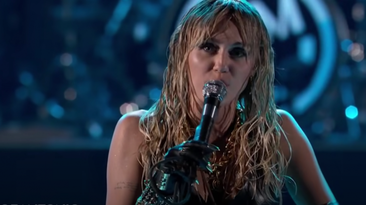 Miley Cyrus Takes Down Pop To Cover Pink Floyd's 'Comfortably Numb' | Society Of Rock Videos