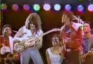 Relive Eddie Van Halen's Beat It Solo Live With Michael Jackson