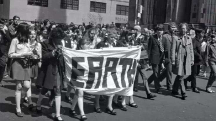 The Events On The First Earth Day Back In April 1970 | Society Of Rock Videos