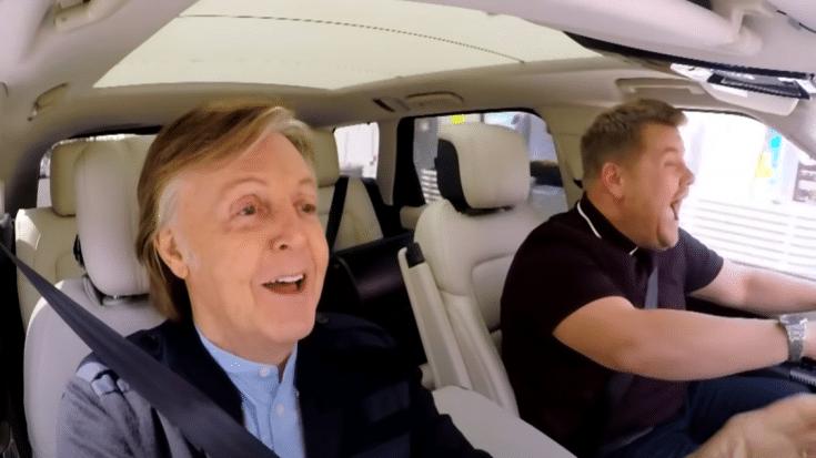 Paul McCartney Almost Didn't Do Carpool Karaoke | Society Of Rock Videos