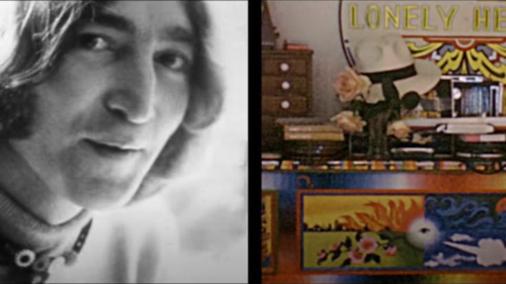 A Long-Lost 1968 John Lennon Footage Used For New Mix Of 'Look At Me' | Society Of Rock Videos