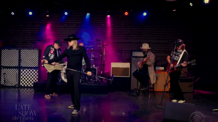 Cheap Trick Performs New Single On The Late Show | Society Of Rock Videos