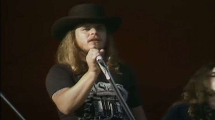 Watch And Relive Lynyrd Skynyrd's 1976 'Sweet Home Alabama' Knebworth Performance   Society Of Rock Videos