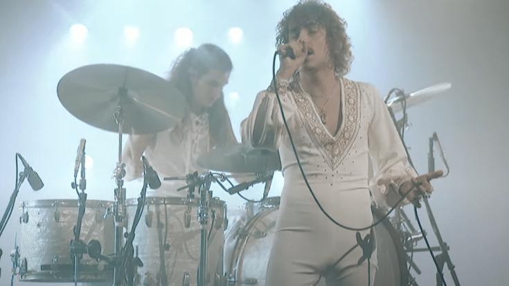 Greta Van Fleet Release New Live Performance- Drummer Goes Hard   Society Of Rock Videos