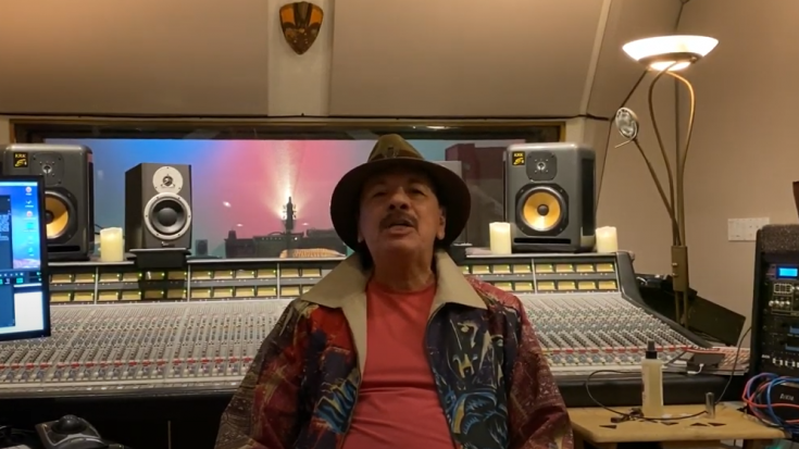 "Carlos Santana ""Welcome Back"" Message 
