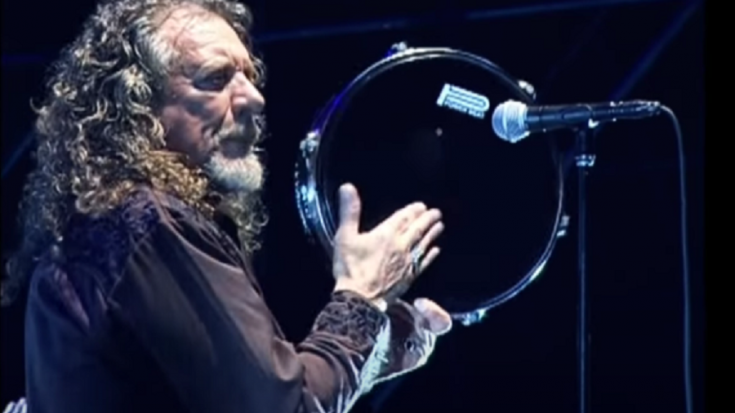 Robert Plant Shares His Inspiration To Start Singing
