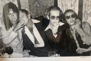 Elton John and Alice Cooper Recreate Iconic Photo 50 Years Apart
