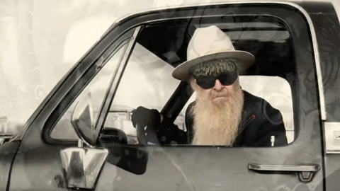 At 71, Billy Gibbons Release New Solo 'My Lucky Card' | Society Of Rock Videos