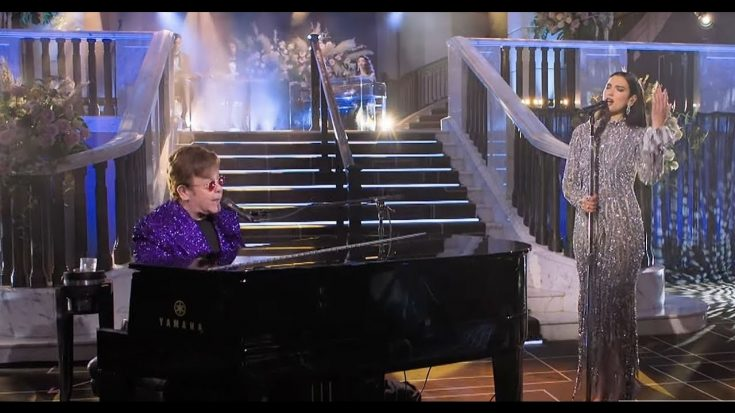 Elton John And Dua Lipa Is The Perfect Duo To Perform 'Bennie And The Jets' | Society Of Rock Videos