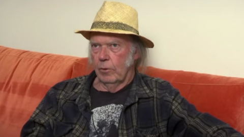 Neil Young Is Five Songs Into His Next Record But Touring Is Not An option | Society Of Rock Videos