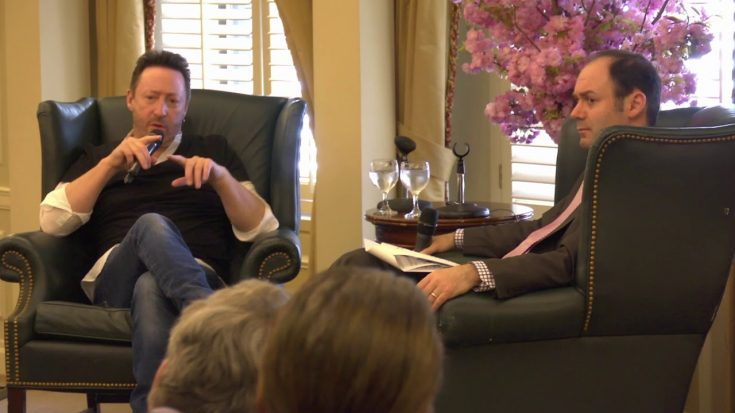 Julian Lennon Talks About Hearing of John Lennon's death | Society Of Rock Videos