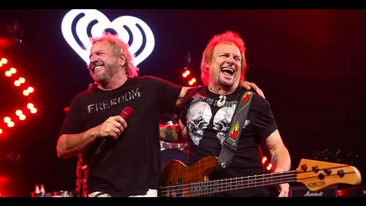 Sammy Hagar Extends Las Vegas Residency After 1st Show Sold Out   Society Of Rock Videos