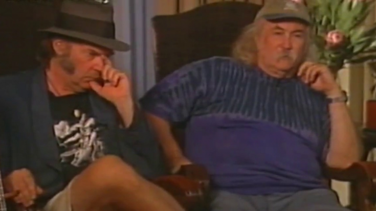 """David Crosby Calls Neil Young The """"most selfish person"""" He Met In New Interview 