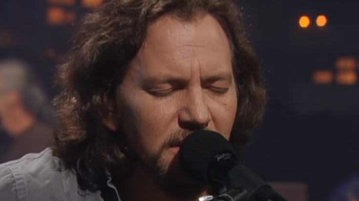Eddie Vedder Releases New Song From 'Long Way' From Upcoming Album   Society Of Rock Videos