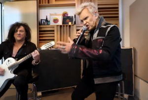 Watch Billy Idol Performs Acoustic Version Of 2021 Song 'Bitter Taste' And Other Hits
