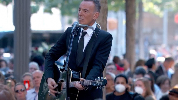 Bruce Springsteen Performs 'I'll See You in My Dreams' at 9/11 Anniversary Memorial | Society Of Rock Videos